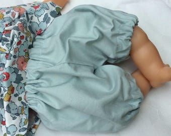 Doll clothes doll 30 cm grey blue bloomers
