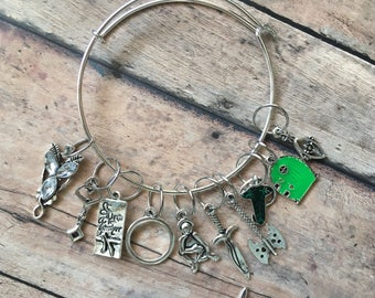 Stitch Marker Bracelet - Lord of the Rings