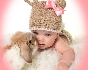 Bunny Hat Photo Prop