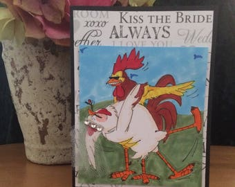 Wedding (rooster) Card