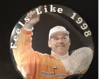 Tennessee Vols Gameday Button Feels like 1998