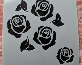 Roses / Flowers stencil mask by Imagine Design Create