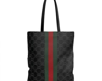 Gucci Pattern With Strap Tote Bag
