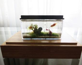 Miniature aquarium 1/12 scale fish tank
