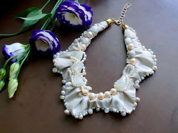 Wedding jewelry - freshwater pearls & gemstones