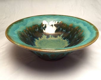 Flared rim two tone bowl (small)