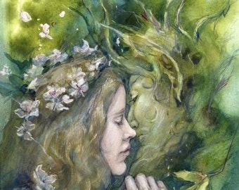 MIDSUMMER SPECIAL 25% OFF ~ Beltane, small print (5 x 7inches)