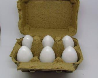 Half Dozen Eggs - Wooden Play Food