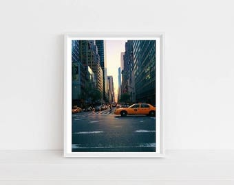 Park Ave, New York City Print, Art Print, Digital Print, Photography Print, Home Decor, Wall Art