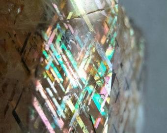 Rainbow lattice sunstone 2.7cm 36 Cts IG2