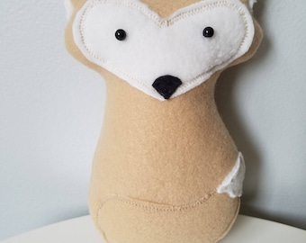 Stuffed Tan Fox