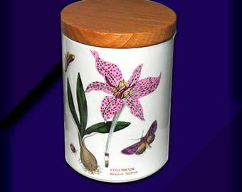 "Portmeirion 5-1/4"" Storage Jar."