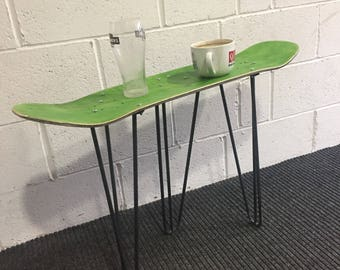 Bespoke skateboard table