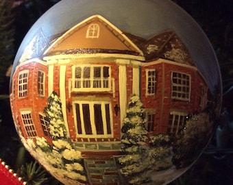 Hand Painted Custom House Ornaments