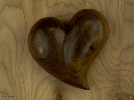 """I Love You with this """"Beautifully Whimsical"""" Wooden Heart   Bentworx™"""