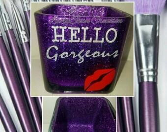 Custom glitter jars