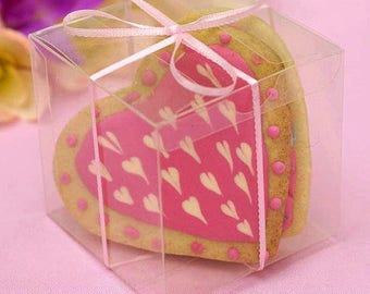 Baby Shower Gifts Wrapped In Clear ~ Baby shower favors tutu favor bags pink ballerina themed