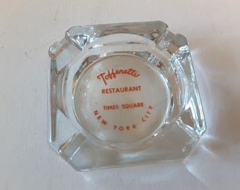 New York, Times Square glass ash tray