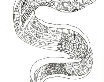 Moray Adult Coloring Page