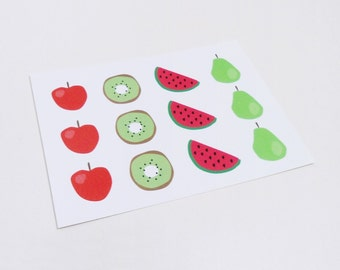 Postal frutas