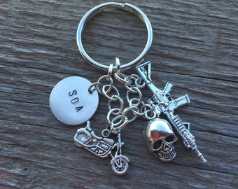 Sons of Anarchy Inspired Keychain
