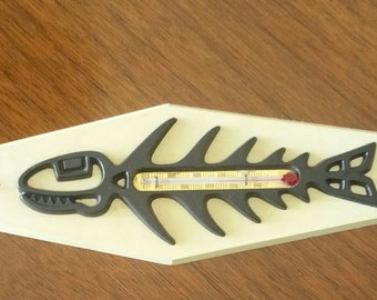 Mid century modern fish bone thermometer.