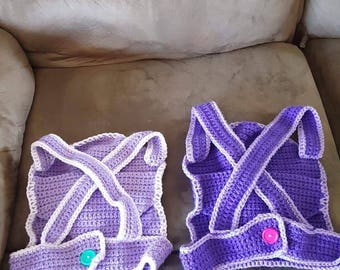 Crochet Children's Babydoll Carrier