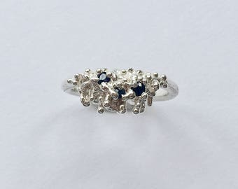 STYX River Sapphire Ring