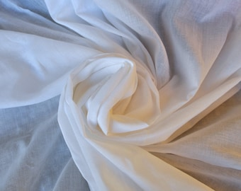 Muslin cloth Voile fabric sheer lining fabric soft cotton fabric Mulmul fabric sold by yard