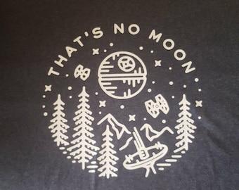 """Star Wars Fan Art """"Thats No Moon"""""""