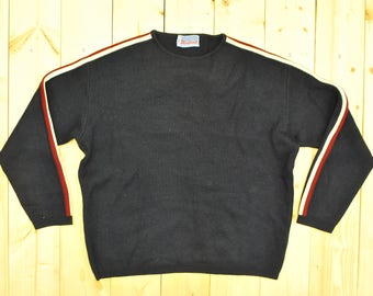 Vintage 1970's MONTANT Ski Sweater / Made in France / Retro Collectable Rare