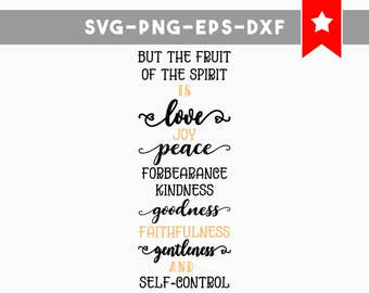 fruit of the spirit svg file, christian svg, wood signs sayings, religious svg, bible verse sign svg , bible svg files, scripture signs dxf