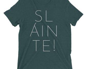 Sláinte! TriBlend T-shirt