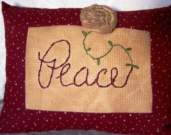 Pillow - Decorative - Peace