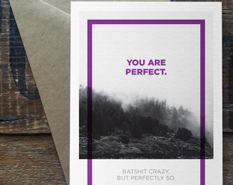 You Are Perfect - Uncommon Card