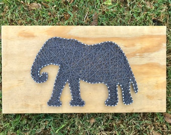 String Art Elephant