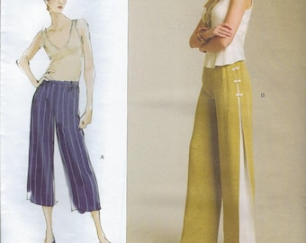 Vogue American Designer V1050 Pants Today's Fit by Sandra Betzina  Size A to J Uncut Factory Folded