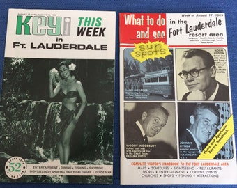 Fort Lauderdale Travel Brochure and Guide 1969
