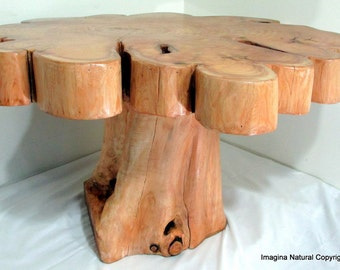Beau Made To Order   Naturally Unique Cypress Tree Trunk Handmade Coffee Table    Log Rustic Chilean   FREE WORLDWIDE SHIPPING
