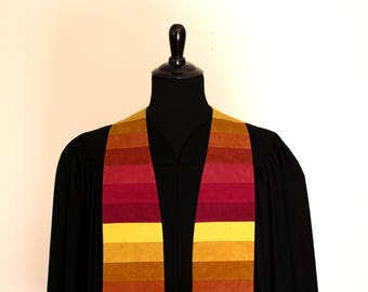 """Clergy Stole, Shade #182, Pastor Stole, Minister Stole, 54"""" Length, Pastor Gift, Vestments, Church"""