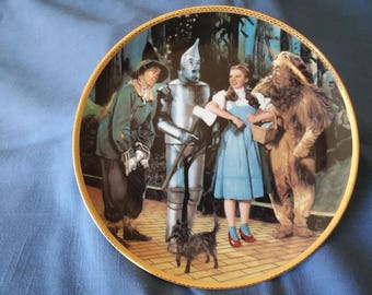 50th Anniversary of The Wizard of Oz collectors plate