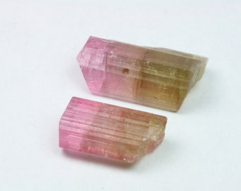 Tourmaline Crystal, Tourmaline Lot, Afghanistan, 2 pcs, 3.1 grams