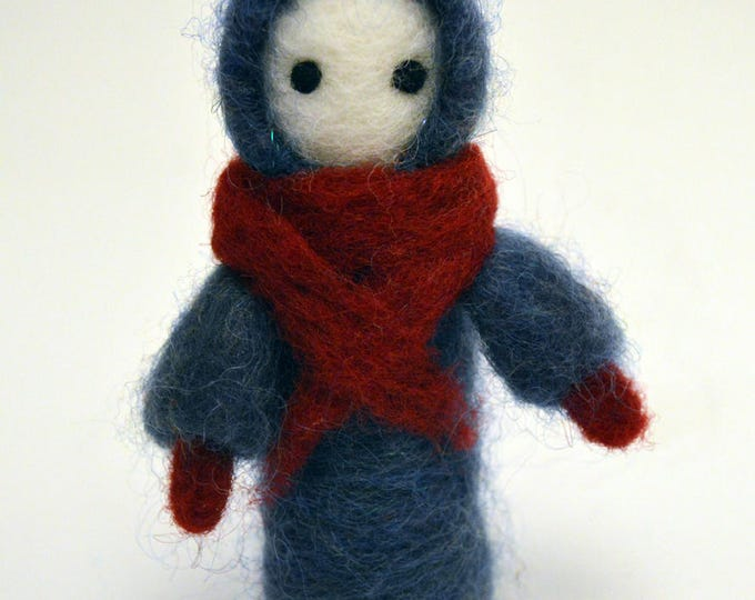 Thomas - A Poppet Made of Wool - OOAK