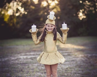 Candelabra  Costume- Lumiere Costume - Beauty and the Beast Costume