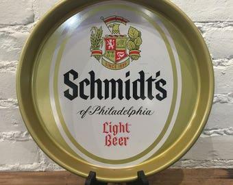 Schmidt's Light Beer Tray