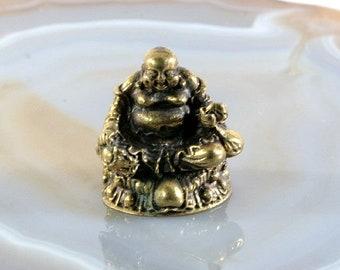 Happy Buddha, Bronze, asiatica - 2911