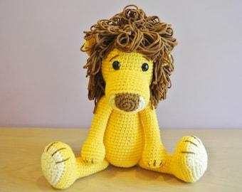 Leo Crochet Lion Amigurumi - Handmade Crochet Amigurumi Toy Doll - Lion Crochet - Amigurumi Lion - Woodland Animal