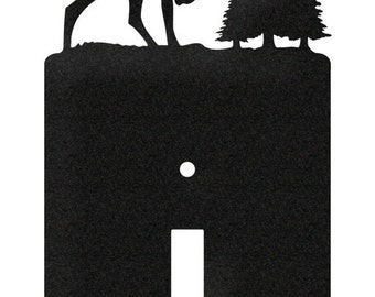 Elk Wildlife Caribou Light Switch Plate Cover