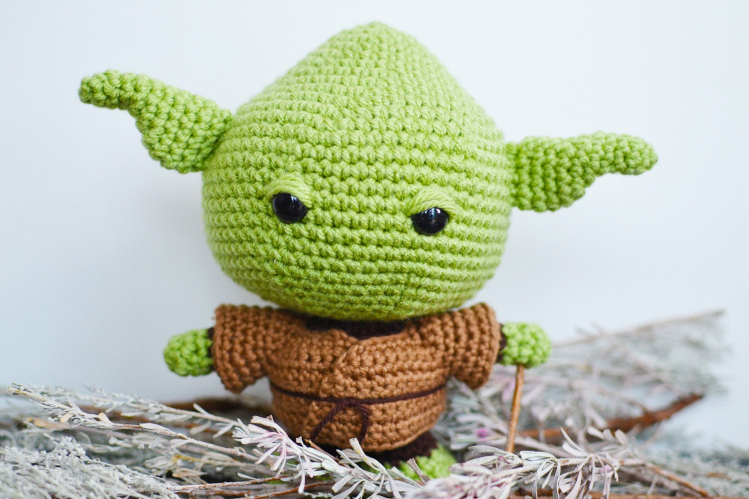 Yoda Crochet Pattern. Star Wars Crochet Pattern. Baby Yoda