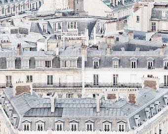 Paris rooftops, Paris photography, Paris Art, Beneath the Rooftops of Paris